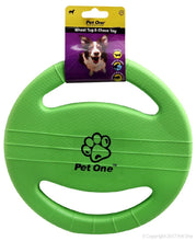 Load image into Gallery viewer, PET ONE DOG TOY TUG AND CHASE WHEEL (GREEN) - City Country Pets and Supplies