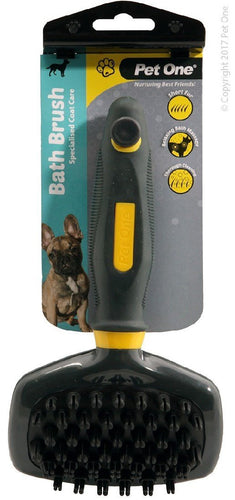 PET ONE GROOMING BATH BRUSH (L) - City Country Pets and Supplies