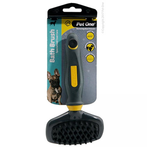 PET ONE GROOMING BATH BRUSH (S) - City Country Pets and Supplies
