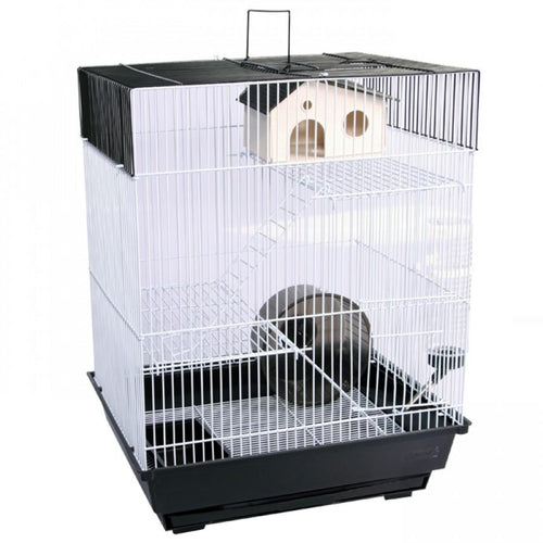 PET ONE MOUSE CAGE 2 LEVEL 34.5X28X45.5CM - City Country Pets and Supplies