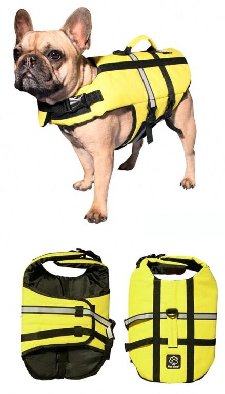 PET ONE SPLASH SWIM BOUYANCY VEST LIFE JACKET (30L X 50-68CM 7-9KG YELLOW) - City Country Pets and Supplies