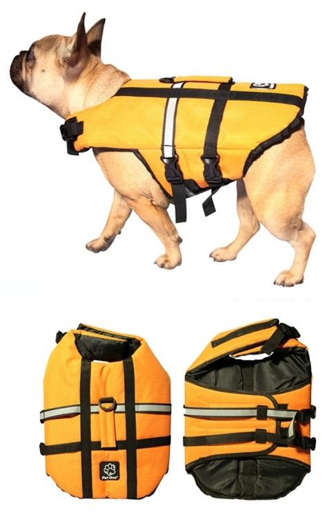 PET ONE SPLASH SWIM BOUYANCY VEST LIFE JACKET (35L X 60-68CM 10-19KG ORANGE) - City Country Pets and Supplies