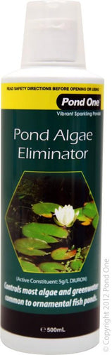 POND ONE POND ALGAE ELIMINATOR 500ML - City Country Pets and Supplies