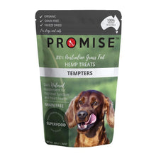 Load image into Gallery viewer, PROMISE GRAIN-FREE ORGANIC BEEF LIVER HEMP TREATS TEMPTERS 50G - City Country Pets and Supplies