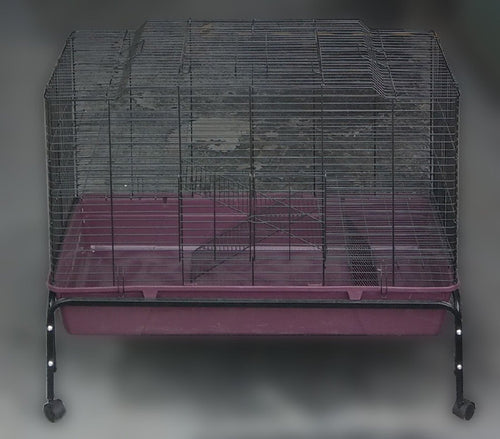 RABBIT HUTCH/CAGE PLASTIC BASE XL WITH STAND 2686 - City Country Pets and Supplies