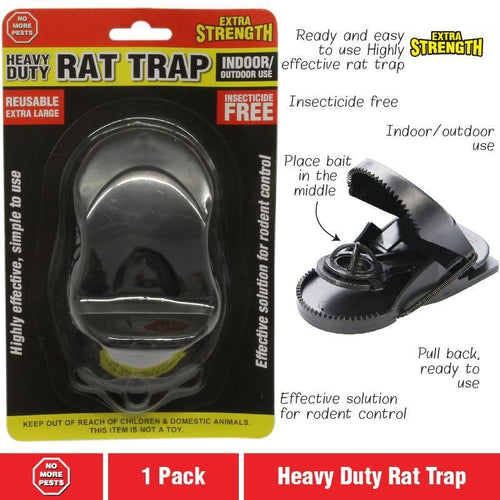 RAT TRAP 1PK PLASTIC - City Country Pets and Supplies