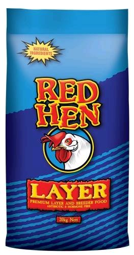 RED HEN LAYER (PREMIUM LAYER AND BREEDER FOOD) 20KG - City Country Pets and Supplies