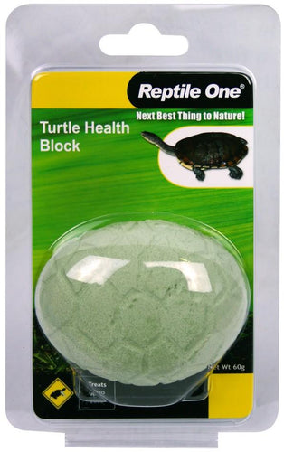 REPTILE ONE BLOCK TURTLE HEALTH CONDITIONING 60G - City Country Pets and Supplies