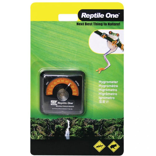 REPTILE ONE ECONOMY STICK-ON HYGROMETER - City Country Pets and Supplies