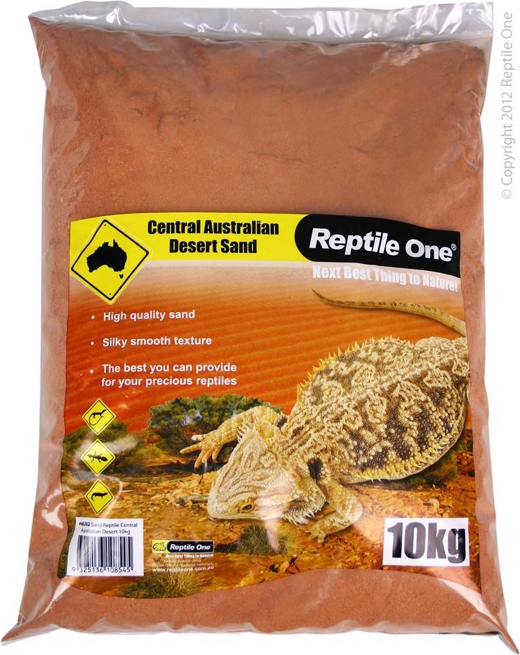 REPTILE ONE REPTILE SAND CENTRAL AUSTRALIAN DESERT 10KG - City Country Pets and Supplies