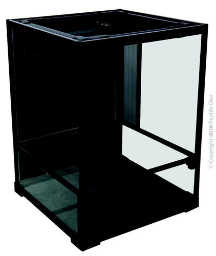 REPTILE ONE RTF-450HT HINGED DOOR GLASS TERRARIUM 45LX45WX60CMH - City Country Pets and Supplies