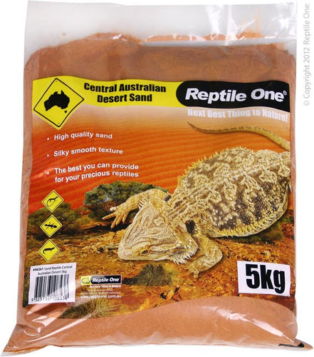 REPTILE ONE SAND REPTILE CENTRAL AUSTRALIAN DESERT 5KG - City Country Pets and Supplies