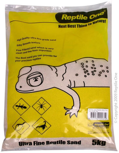 REPTILE ONE SAND REPTILE ULTRA FINE SAND DUNE 5KG - City Country Pets and Supplies
