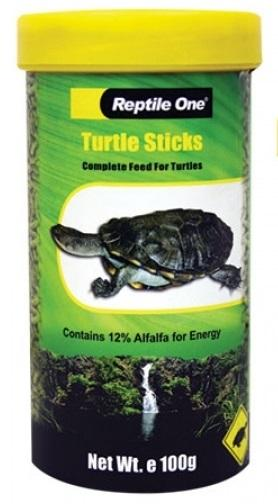 REPTILE ONE TURTLE STICKS 100G - City Country Pets and Supplies