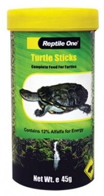 REPTILE ONE TURTLE STICKS 45G - City Country Pets and Supplies