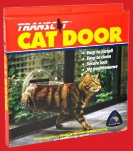 TRANSCAT CAT DOOR CLEAR - City Country Pets and Supplies