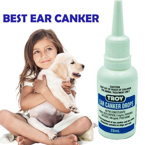 TROY EAR CANKER DROPS 20ML - City Country Pets and Supplies