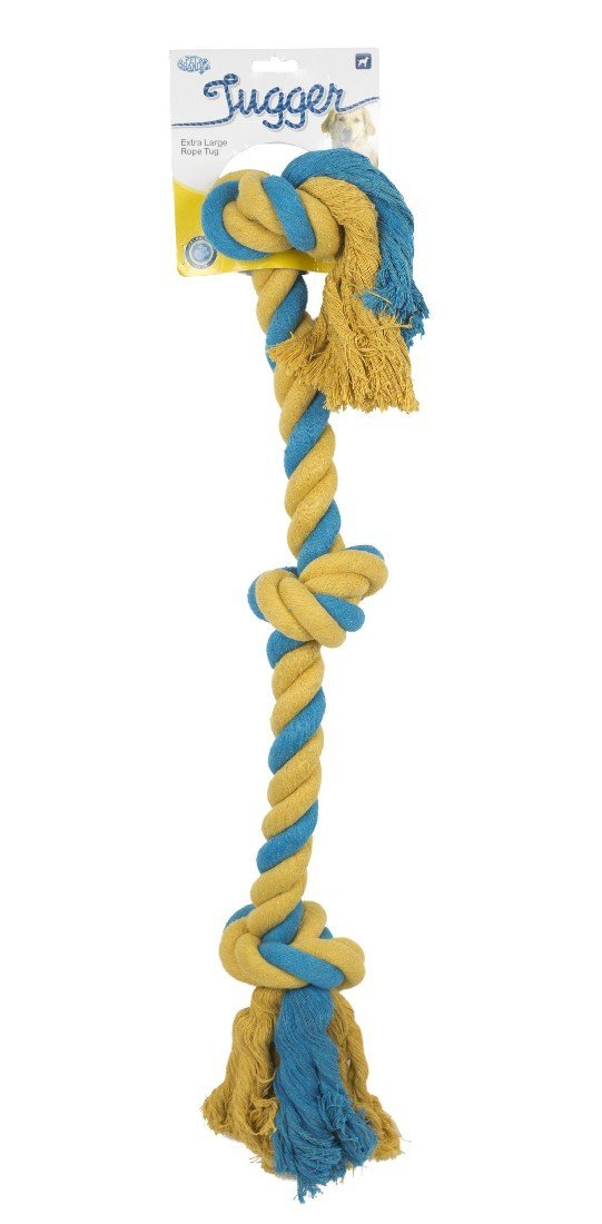 TUGGER X/LARGE ROPE TOY - City Country Pets and Supplies