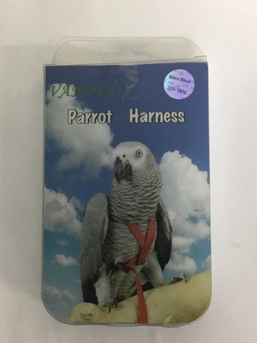 VANPET PARROT BIRD HARNESS EXTRA SMALL 110-190G - City Country Pets and Supplies