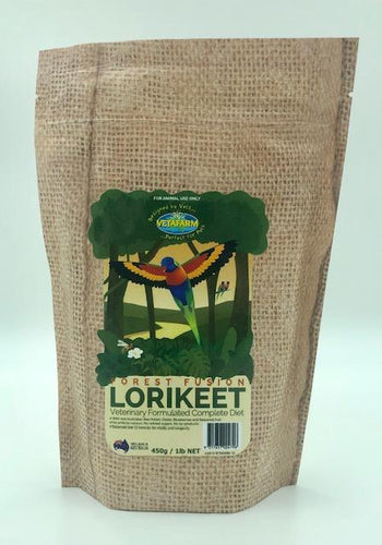VETAFARM FOREST FUSION LORIKEET 450G - City Country Pets and Supplies