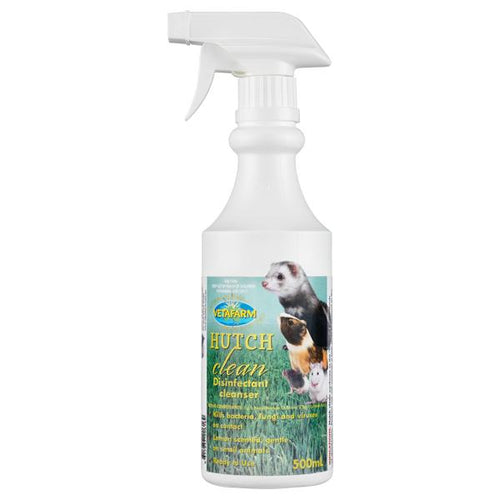 VETAFARM HUTCH CLEAN SPRAY READY-TO-USE 500ML - City Country Pets and Supplies