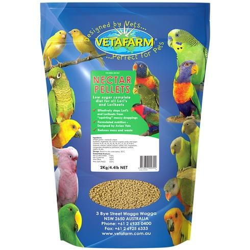 VETAFARM NECTAR PELLETS 2KG - City Country Pets and Supplies