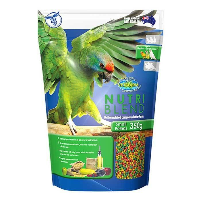 VETAFARM NUTRIBLEND PELLETS SMALL 350G - City Country Pets and Supplies