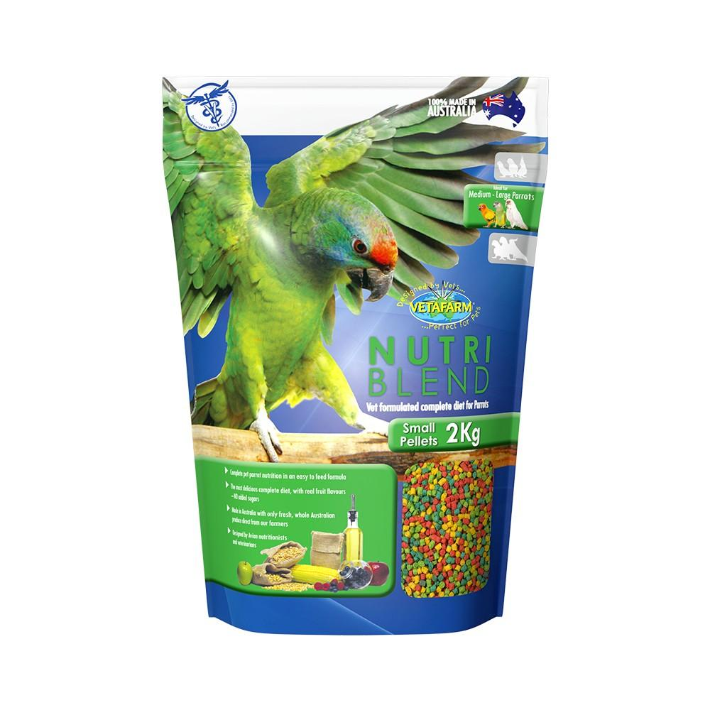 VETAFARM NUTRIBLEND PELLETS SML 2KG - City Country Pets and Supplies