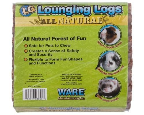 WARE LOUNGING LOGS LARGE 26X26CM - City Country Pets and Supplies