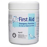 WOMBAROO FIRST AID EMERGENCY NUTRITION FOR BIRDS 50G - City Country Pets and Supplies