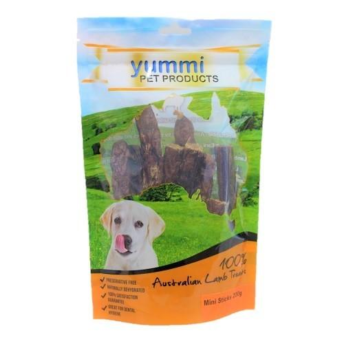 YUMMI AUSTRALIAN LAMB MINI STICKS TREATS 200G - City Country Pets and Supplies