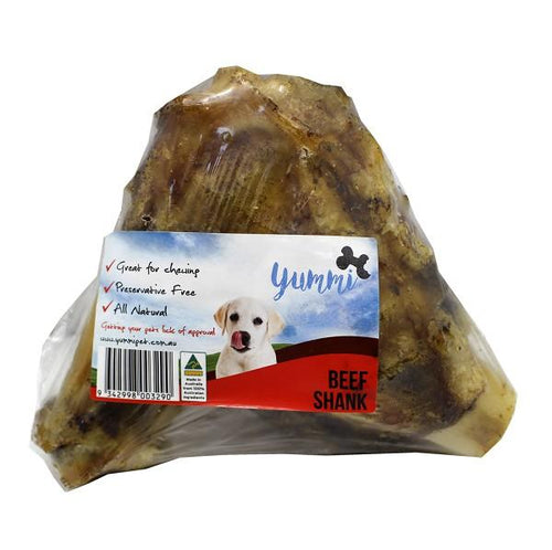 YUMMI PET BEEF SHANK WRAPPED - City Country Pets and Supplies