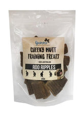 Load image into Gallery viewer, YUMMI PET CHEEKY MUTT ROO RIPPLES TRAINING TREATS 200G - City Country Pets and Supplies