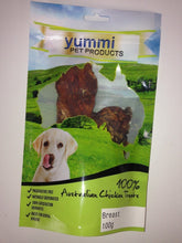 Load image into Gallery viewer, YUMMI PET CHICKEN BREAST TREATS 100G - City Country Pets and Supplies