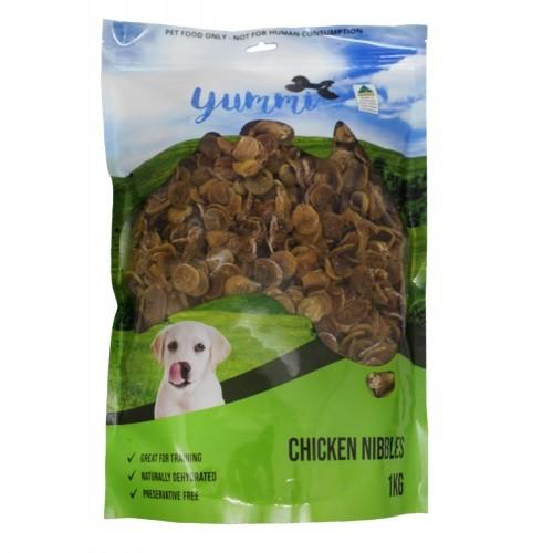 YUMMI PET CHICKEN NIBBLES 1KG - City Country Pets and Supplies