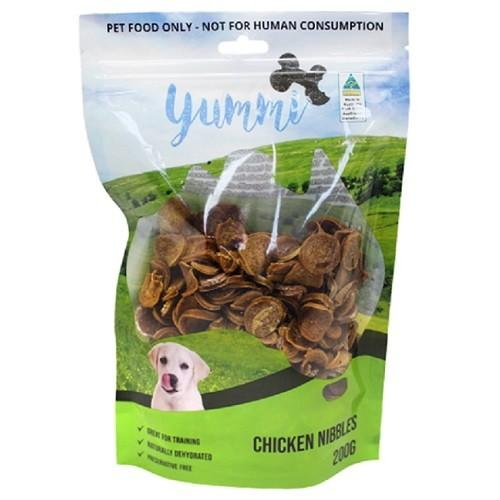 YUMMI PET CHICKEN NIBBLES TREATS 200G - City Country Pets and Supplies
