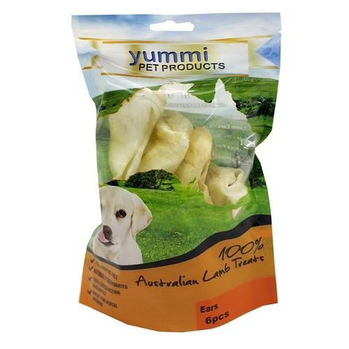 YUMMI PET LAMB EARS 6 PACK - City Country Pets and Supplies