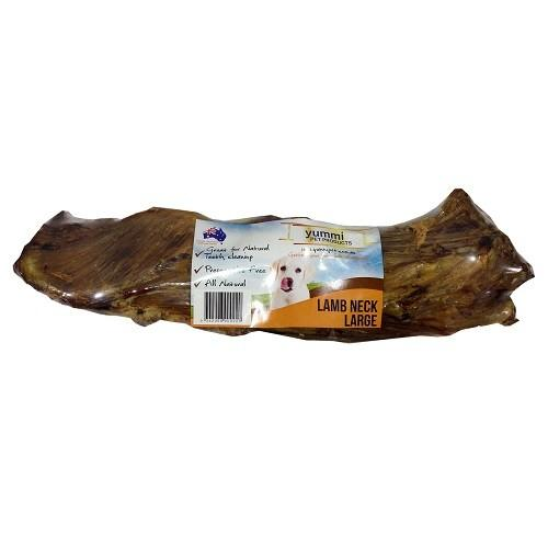 YUMMI PET LAMB NECK BONES LARGE - City Country Pets and Supplies