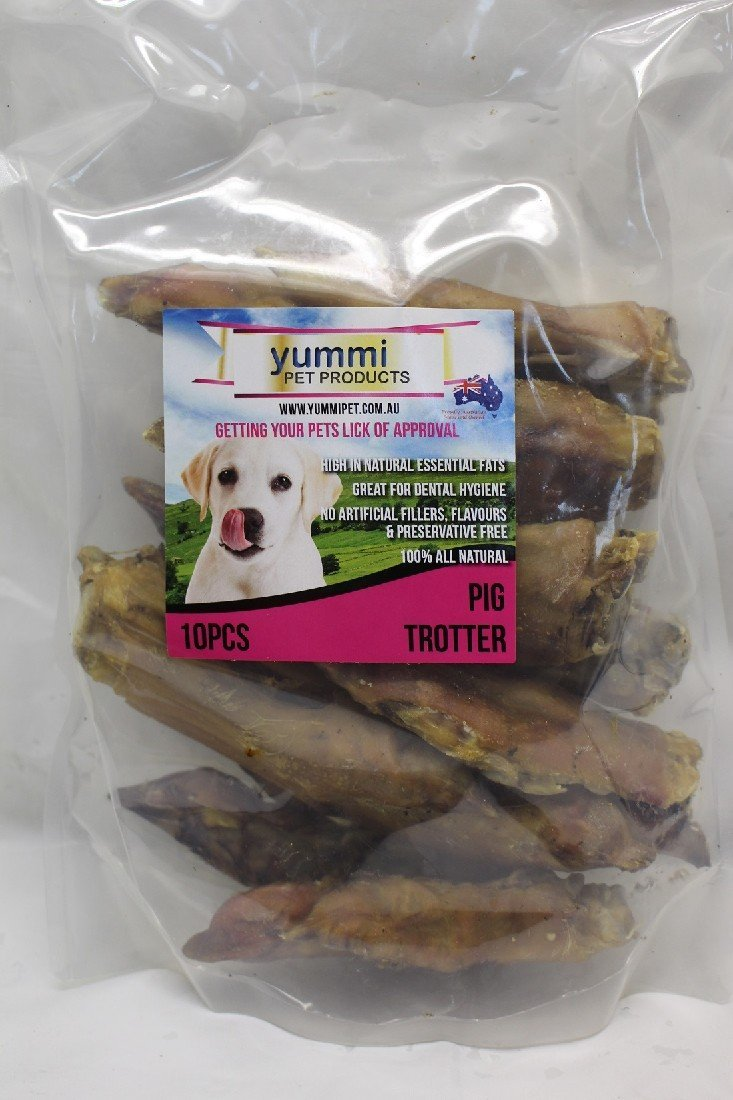 YUMMI PET PIG TROTTER TREATS 10PC - City Country Pets and Supplies