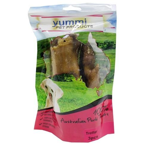 YUMMI PET PIG TROTTER TREATS 3PCS - City Country Pets and Supplies
