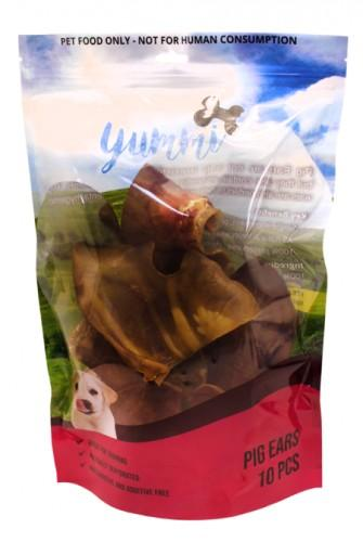 YUMMI PET PIGS EARS 10 PACK - City Country Pets and Supplies