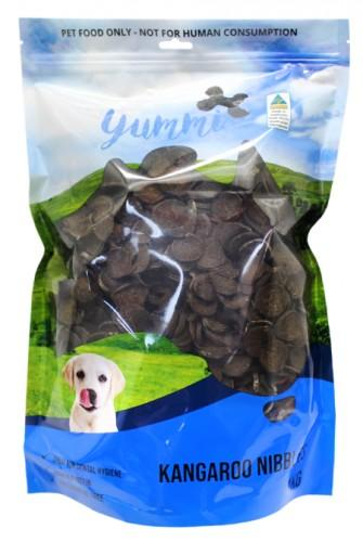 YUMMI PET ROO NIBBLES TREATS 1KG - City Country Pets and Supplies