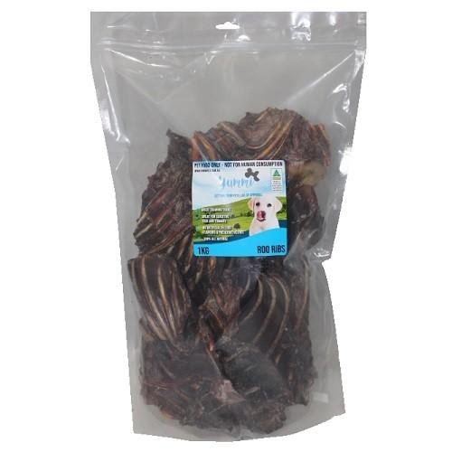 YUMMI PET ROO RIBS 1KG - City Country Pets and Supplies