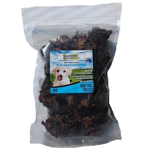 YUMMI PET ROO TAIL PIECES 1KG - City Country Pets and Supplies