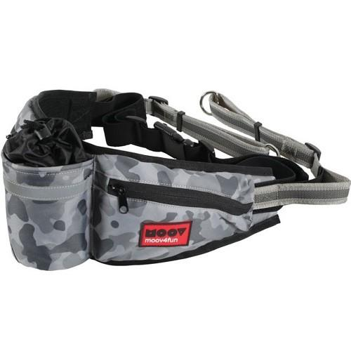 ZOLUX MOOV ADJUSTABLE JOGGING BELT GREY CAMO - City Country Pets and Supplies