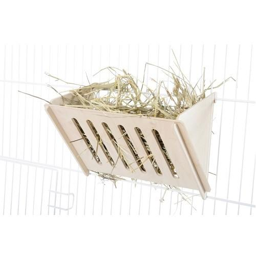 ZOLUX NEO WOODEN HAY RACK 21X14X7CM - City Country Pets and Supplies