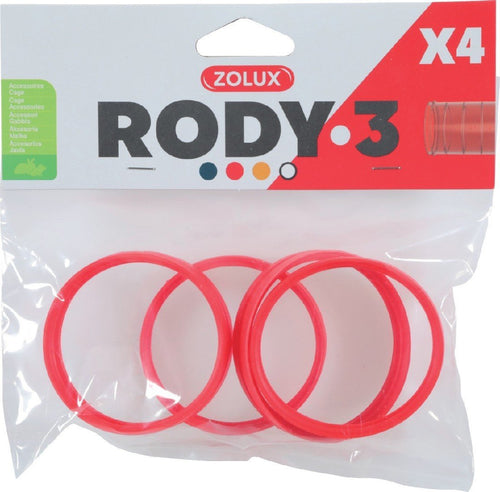 ZOLUX RODY 3 CONNECTING RING GRENADINE - City Country Pets and Supplies