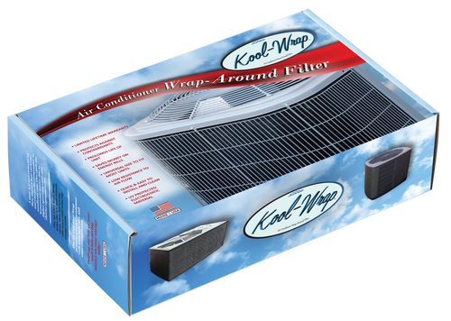 Kool-Wrap Condenser Coil Air Conditioner Filter