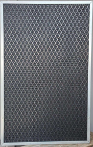 ODOR CONTROL - 2 Inch Washable, Permanent, Electrostatic A/C Furnace Filter with Activated Carbon
