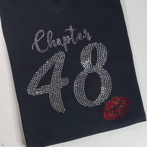 Bling Chapter Birthday Shirt (Ladies Fit)